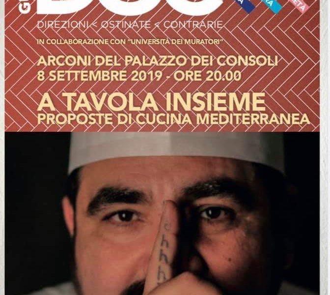 """""""A TAVOLA INSIEME – PROPOSTE DI CUCINA MEDITERRANEA"""""""